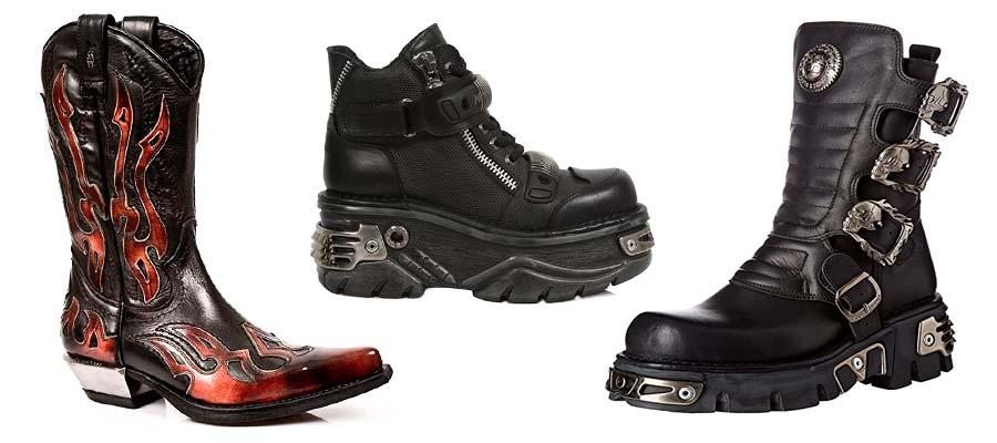 Botas-Rockeras-Mosqueteras-Botines-Zapatos-Deportivas